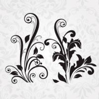 Vector Floral Set 154 by cristina012