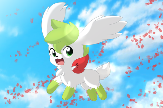 Shaymin by Cookie-Kit