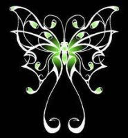 Green Butterfly by bloodbendingmaster97