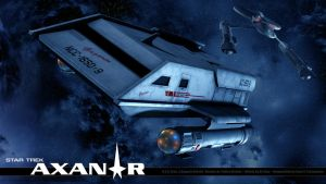 Star Trek Axanar U.S.S.Ares Shuttle by stourangeau