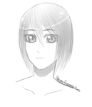 Mikasa is a babe by InvaderZimFreak101