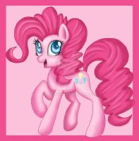 Tablet Practice: Pinkie Pie by Mel-Rosey