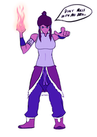 Korra has SPIRIT. by WaterWizz