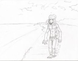 Walking In The Sun by yagami246