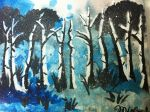 Blue Forest by michelleleithead