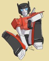TF commission Sideswipe by Pandablubb