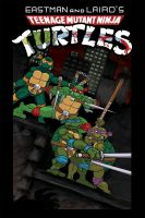 TMNT no. 1 cover by cartoonistaaron