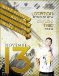 Mike Posner Concert Flyer by wfwillia