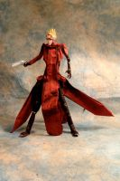 Origami Vash Painted by chosetec