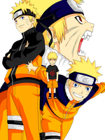Naruto uzumaki by Ninja-pineapple
