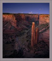 Spider Rock by Rhavethstine