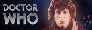 Doctor Who Banner - the 4th doctor by natestarke