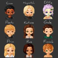 Hunger Games Cast! by LaurenDSizzle
