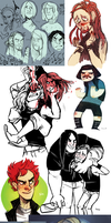 Metalocalypse dump 3 by SIIINS