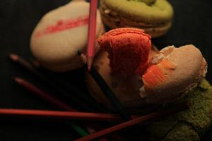 Multicolored Macaroons by Chibidule