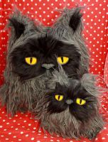 Colonel Meow Plushes by loveandasandwich