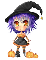 Chibi Witch by Berru-chan