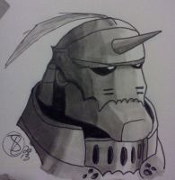 Marker Test - Alphonse by StantheLion
