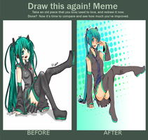 Draw this again meme by Cookayz95