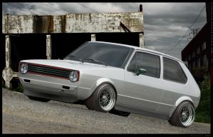 Golf MK1 by Wrofee