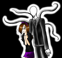.:Slendy and Me:. by Spooksthetic