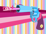 Pinkie's Party Pistol by SpikesMustache
