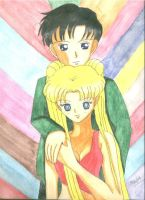 Usagi And Mamoru by Sailorferchy