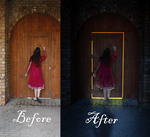 Knocking On Heaven's Door??? Before/After by Shann2j