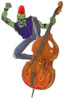 Night of the bass zombies. by Zombean1138
