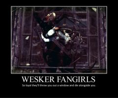 Wesker Fangirls by DragonKeeper333