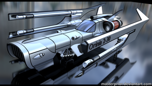 Orinia Spaceship by MasterPrior