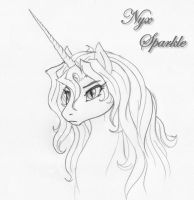 Concept drawing Pony by leovictor
