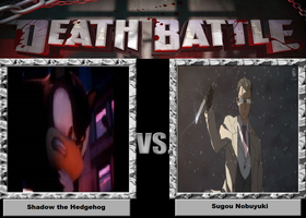 Shadow the Hedgehog vs Sugou Nobuyuki by HispanicOrca