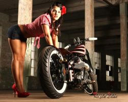 Pinup Perfect Rider by Razin-Cane