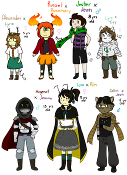 Crack babies: Round 1 by Ask-Lyra-The-Wiccan