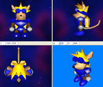 3D- Sparkster by GBAKirbster2007