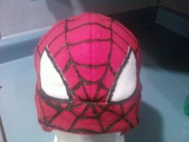 Spiderman Fleece Hat by IndaB