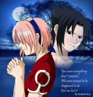 You were everything +SasuSaku+ by rosierr