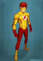 Kid Flash YJ by shamserg