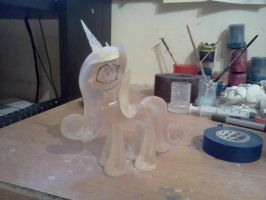 Princess Cadance WIP by Groovebird