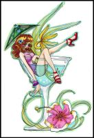 Miss Tropical Martini by attitudechick