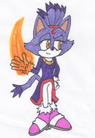Blaze the Cat by Piplup88908