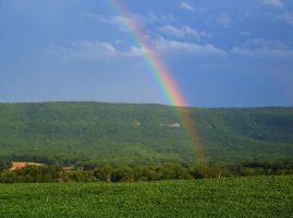 Short Mountain Rainbow by jim88bro