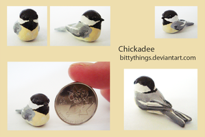 Chickadee - Gift by Bittythings