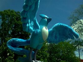 Repaired/modified Articuno figure by methuselah-alchemist
