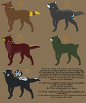 ADOPTABLES 1 by CorpseFlowerofDoom