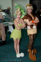 Tink and Terrence at Comic-con by TheRealLittleMermaid