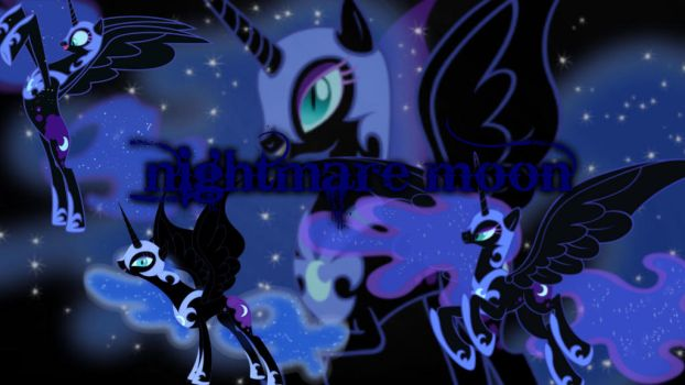 Nightmare Moon Wallpaper by volteon999