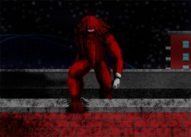 Red Monster City by Tedbob