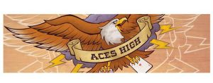 Aces High Fingerskate by JasonGoad